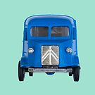 Citroen H Van Toy Front by Flo Smith