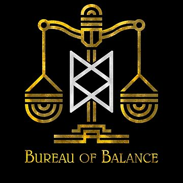 El logotipo de Adventure Zone Bureau of Balance de awbult