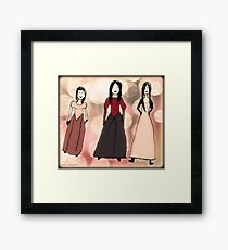 Work by Tane (8) - Three Beauties Framed Print