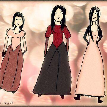 Work by Tane (8) - Three Beauties von micklyn