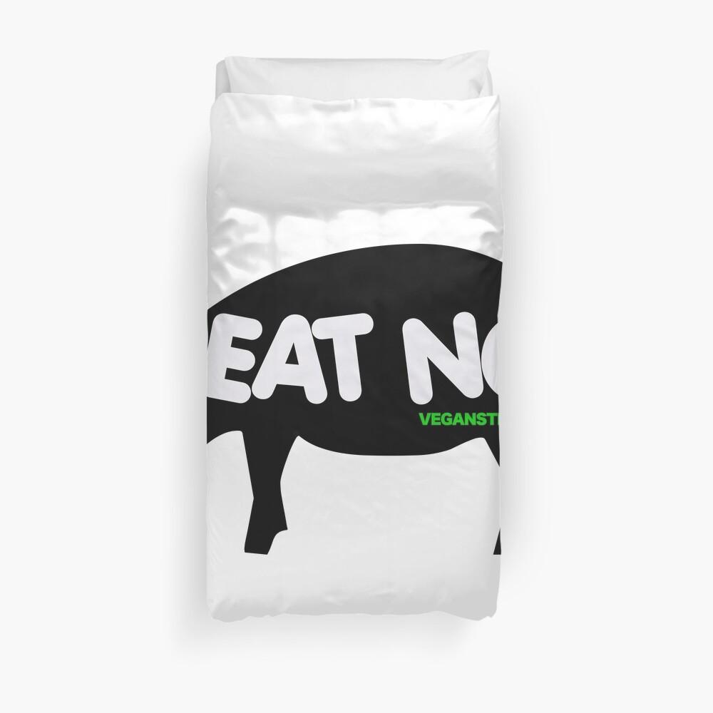 Essen Sie kein Schweinefleisch Bettbezug