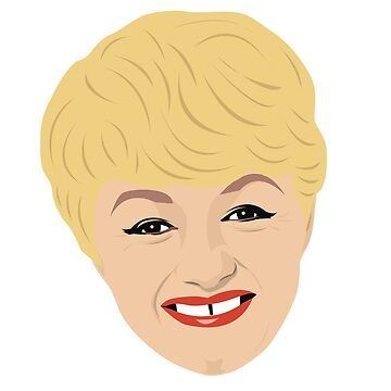 Carry on actress Joan Sims  by gregs-celeb-art