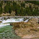Kootenai Falls, Lincoln County, Montana, USA by Bryan D. Spellman
