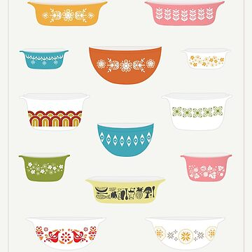 Vintage Pyrex by sixhours