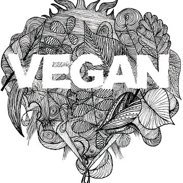 Go Vegan by zuzanaperner