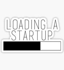 Loading a Startup Sticker