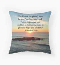 SERENE JEREMIAH 29:11 FOTODESIGN Dekokissen