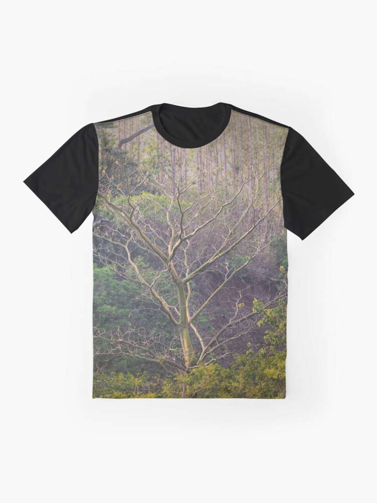 Alternate view of Soul-baring Tree Graphic T-Shirt