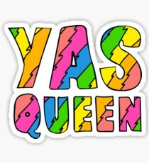 yas queen Ilana & Abbi  Sticker