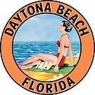 Daytona Beach Florida Vintage Style Travel Beach Bikini by MyHandmadeSigns