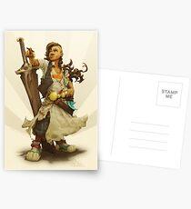 scai: pirate girl Postcards