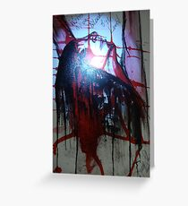 Washed by the Blood of JESUS CHRIST my LORD! Greeting Card