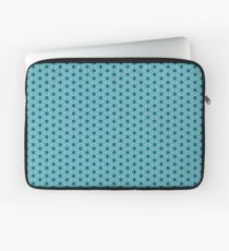 Abstract Turquoise Pattern 2 Laptop Sleeve