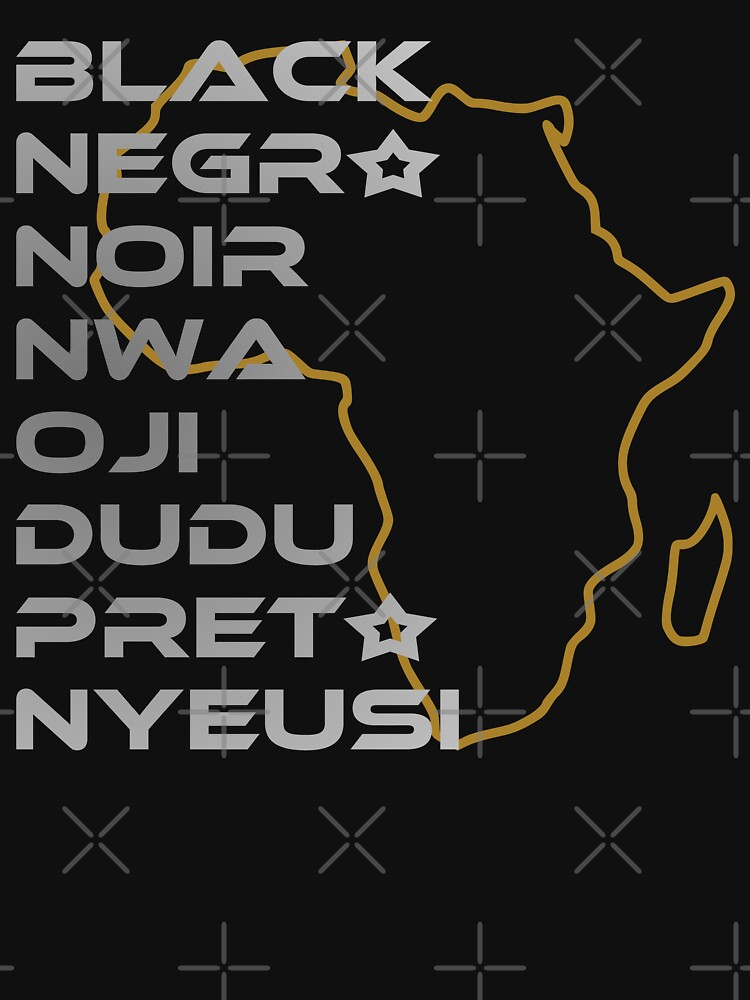 BLACK in Every Language Third Culture Series (Africa) by carbonfibreme