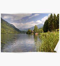 Afritzer See ( Afritzer Lake ) - Carinthia - Austria Poster