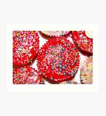 cupcake crazy Art Print