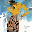 BirdHead/Pittsburgh No. 6i by ReBecca Gozion