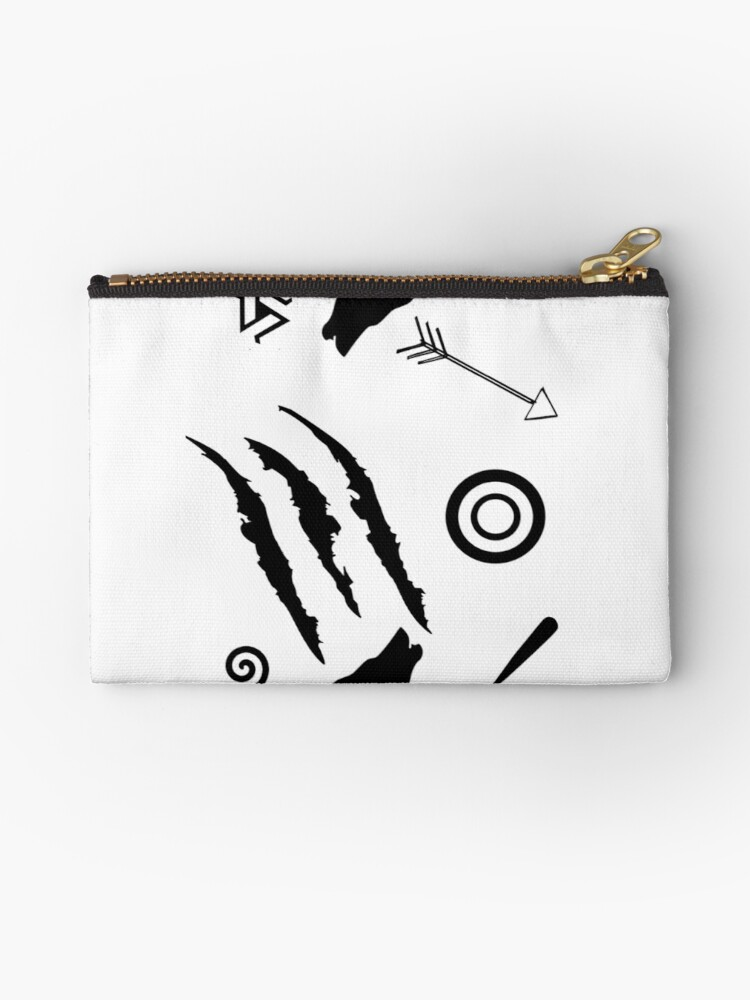 Teen Wolf Symbols Studio Pouches By Jordams124 Redbubble