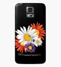 Encourage Floral Case/Skin for Samsung Galaxy
