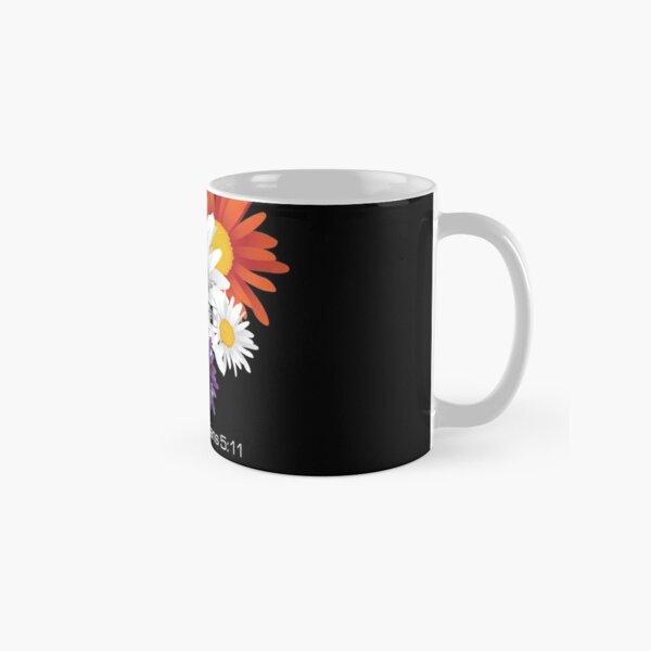Encourage Floral Classic Mug