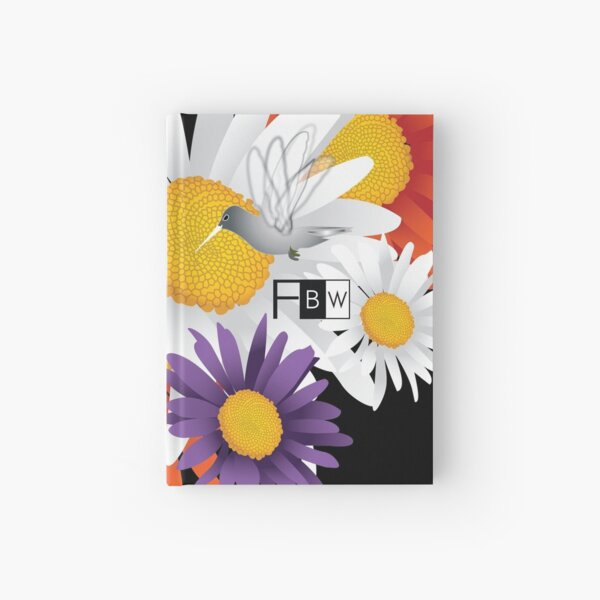 Encourage Floral Hardcover Journal