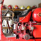 Engine 2 Helmets by Jon  Johnson