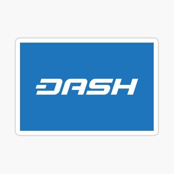 DASH - Digital Cash Sticker