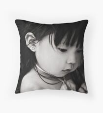 sometimes you put walls up not to keep people out, but to see who cares enough to break them down... Throw Pillow