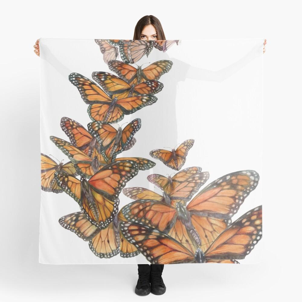 Monarch Butterfly Flight Scarf