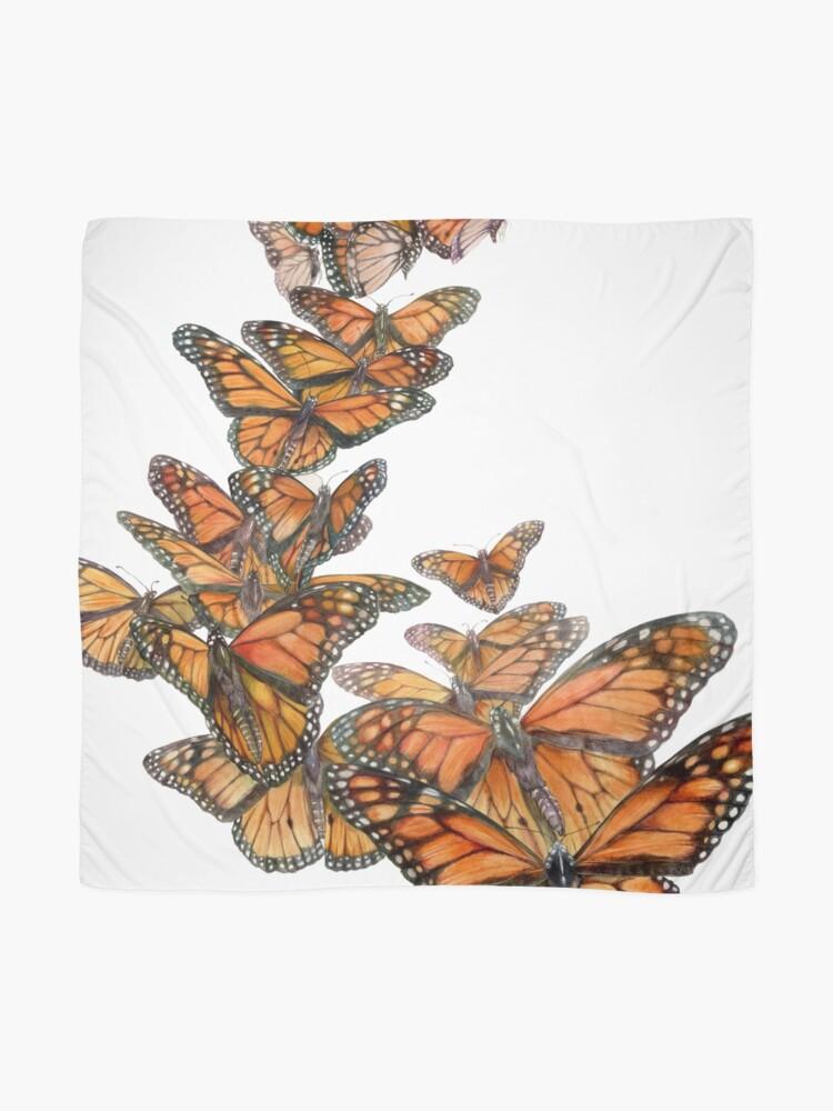 Alternate view of Monarch Butterfly Flight Scarf