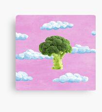 Broccoli Love Canvas Print