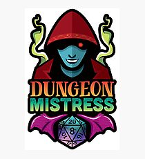 Lámina fotográfica Dungeon Mistress