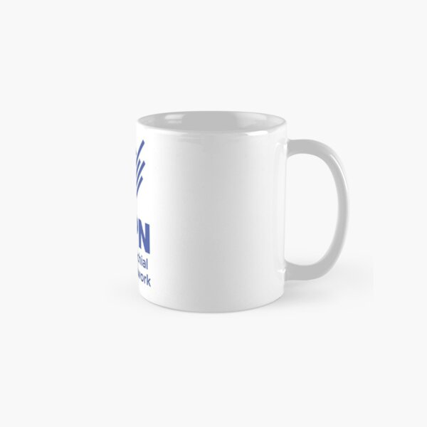 UBPN Logo one color with text Classic Mug
