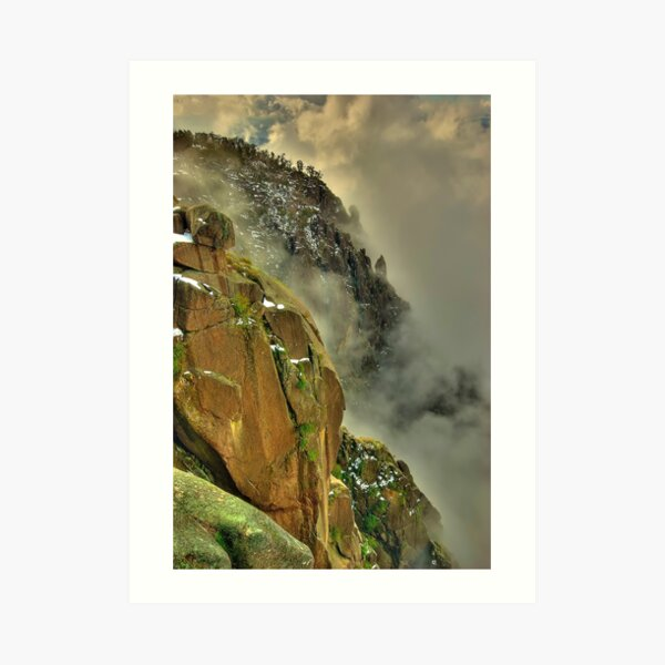 Mount Buffalo Gorge, Victoria Art Print