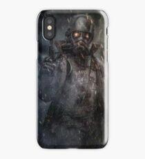 Fallout NCR Ranger Fan Art Poster iPhone Case
