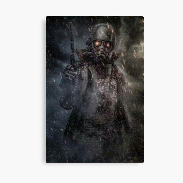 Fallout NCR Ranger Fan Art Poster Canvas Print