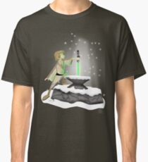 The Saber In The Stone Classic T-Shirt
