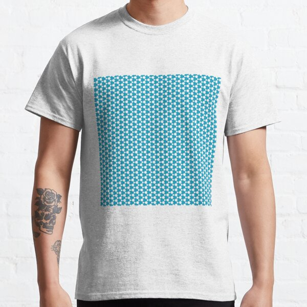 Abstract Turquoise Pattern 1 Classic T-Shirt
