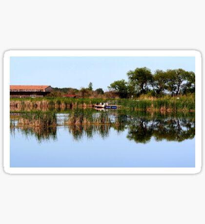 Oak Hammock Marsh Sticker
