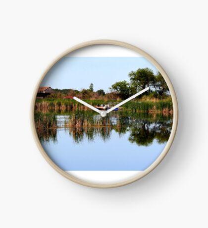 Oak Hammock Marsh Clock