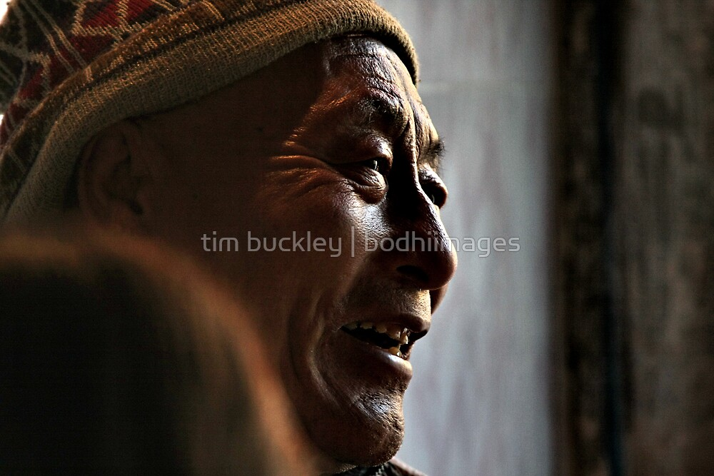 high mountain man. india by tim buckley   bodhiimages