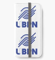 Blue and White UBPN Logo  iPhone Wallet/Case/Skin