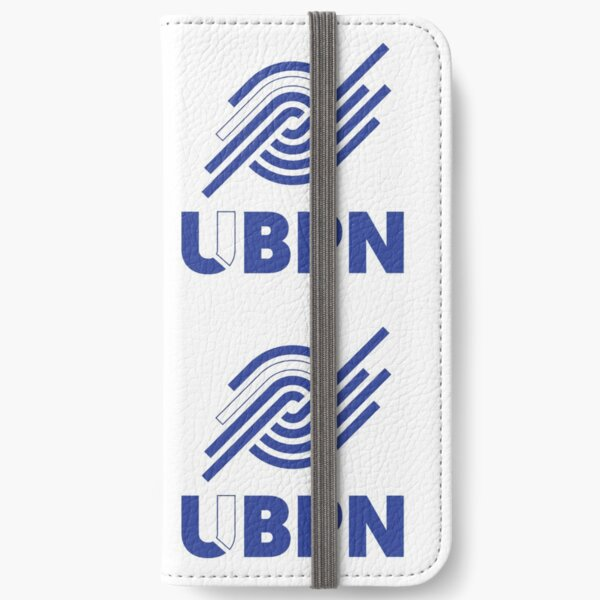 Blue and White UBPN Logo  iPhone Wallet