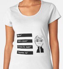 How do you take your coffee? Women's Premium T-Shirt