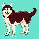 Husky Dog by TinyBee