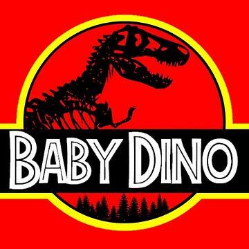 Baby Dino (Jurassic Park) by KrazyKlowns
