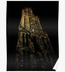Utrecht Dom Tower, Christmas Eve Poster