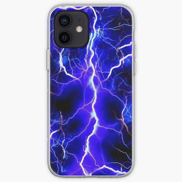 Blue Lightning iPhone Soft Case