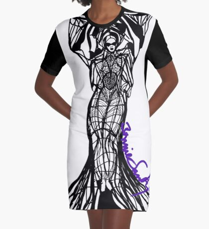 Woman Within1 Graphic T-Shirt Dress