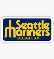Seattle Mariners Retro Sticker
